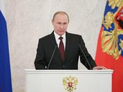 Putin: 'Attempts to achieve military superiority over Russia will fail'
