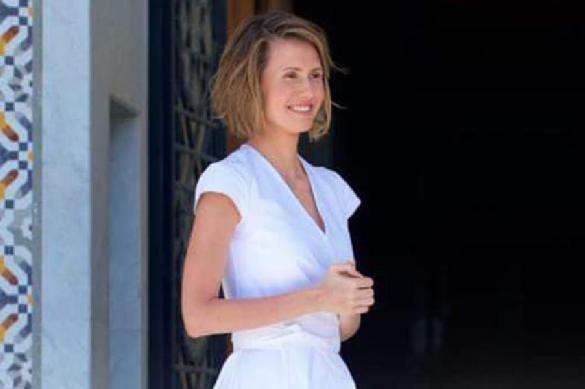Bashar Assad's wife addresses the nation