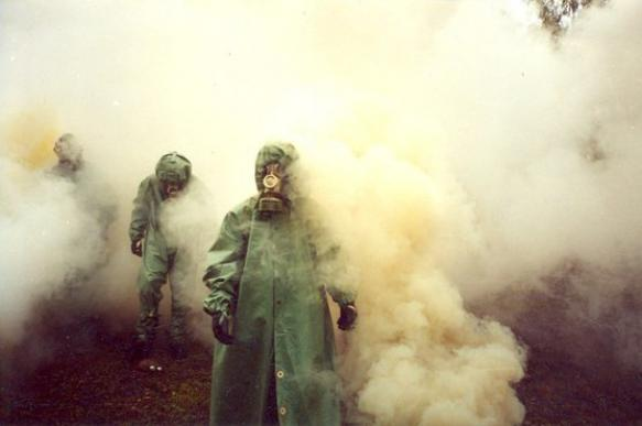 Assad sets himself up by using chemical weapons? Not