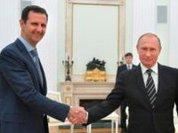 Assad discusses Syria's future with Putin