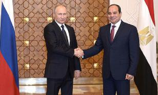 Putin in Egypt: Who's the big player in the Middle East?