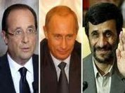 Hollande, Putin and Ahmadinejad confirm presence at Rio 20