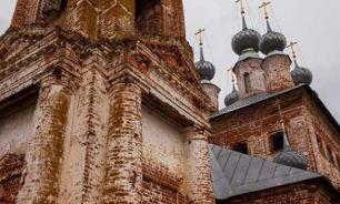 Russians protest against construction of Orthodox church in Yekaterinburg