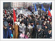 Russians protest against possible return of Kuril Islands to Japan