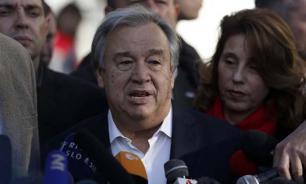 António Guterres sworn in as UN Secretary-General