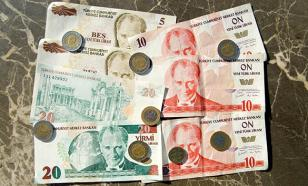 Turkish national currency falls to record low against US dollar