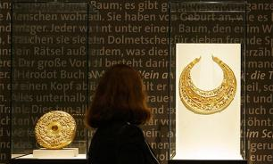 Scythian gold flows from Russia to Ukraine because Amsterdam said so?