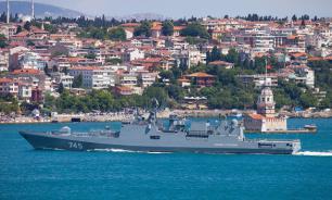 Russian warships return to Mediterranean Sea
