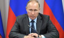 Putin arrives in Kaliningrad enclave to break destructive  information waves