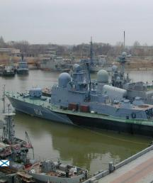 Caspian Flotilla of the Russian Navy conduct operational readiness drills