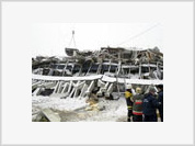 Death toll in Moscow market roof collapse reaches 57, including 1 child