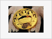 Bank of Russia Releases Largest Gold Coin Worth $200,000