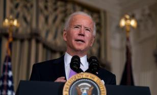 Why does Joe Biden joke about evacuation from Afghanistan?