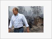 Putin Arrives in Center of Summer Hell