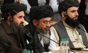Why did the Taliban delegation come to Moscow for talks?