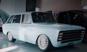Kalashnikov unveils Russian electric car to compete with Tesla