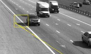 Moscow driver fined for shadow of his car