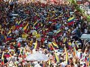 Massive rallies anticipate Chavez's victory on Sunday referendum