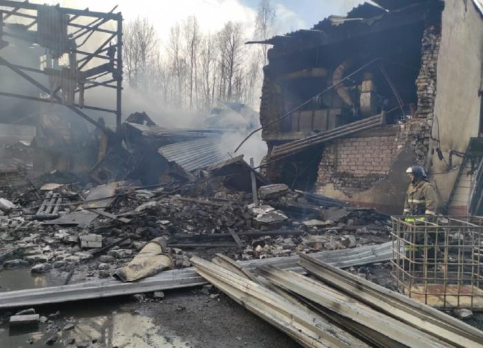 Fifteen killed in explosion at gunpowder-making plant in Russia