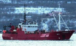 Russian fishing vessel sinks in Barents Sea during storm, 17 killed
