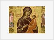 Worshippers astounded by miracle of crying icons