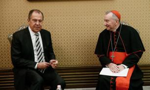 Vatican's Pietro Parolin meets Russian Foreign Minister Lavrov