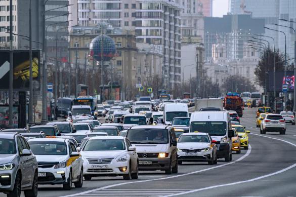 Coronavirus paralyzes Moscow traffic