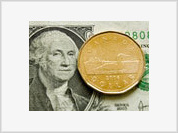 Canadian dollar tops US brother for the first time in three decades