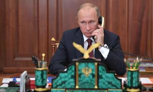 Putin interrupts meeting of Council for Culture to make an urgent phone call