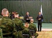 Putin awarded special unit militia for Dagestan's operation