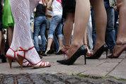 Ukrainian prostitutes suffer debacle