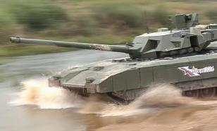 Russia tests world's most powerful Armata tank in Syria