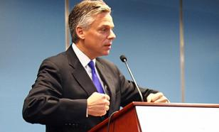 US Ambassador to Russia Huntsman justifies expulsion of Russian diplomats on Russia's day of grief