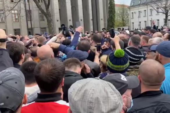 Mass riots spark against self-isolation regime in North Ossetia