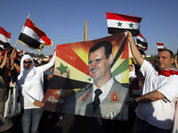 The West and its Arab allies put much more pressure on Syria