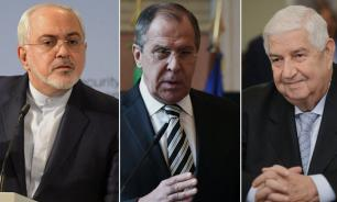 Russia, Syria and Iran as united front against USA