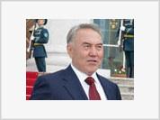 US Diplomat almost runs into Kazakh President