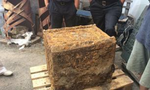 Adolf Hitler's large sealed safe box found in Ukraine