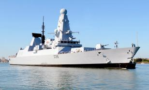 Russia opens warning fire to force British destroyer out of Russian waters