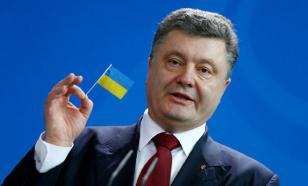 Poroshenko tells children nearly all Ukrainians ready for war