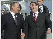 """Putin dots all """"i's"""" about Chechnya and Yukos on his visit to Germany"""