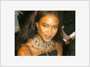 Naomi Campbell's 40th Birthday Turns Moscow Up Side Down