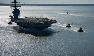 USS Carl Vinson gets lost at sea on the way to North Korea