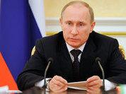 Putin sends message of peace, Kiev junta says he sells air