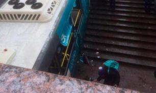 Bus driver says brake failure caused vehicle to crash into underground passage in Moscow