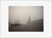 Moscow Literally Burnt by the Sun