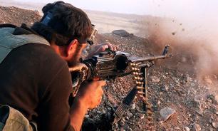 Al-Nusra fighters leave arsenal of US weapons