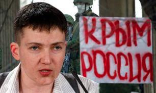 Savchenko: WWIII will return Crimea to Ukraine