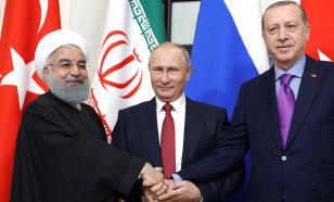 Russia, Iran and Turkey decide Syria's future in Tehran