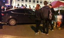 Cars ram into pedestrians in Moscow and St. Petersburg